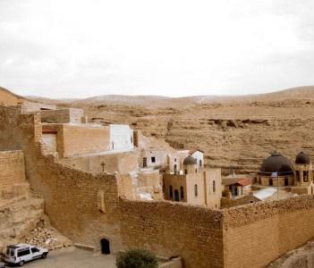 Vista de Mar Sabbas - Valle de Kidron