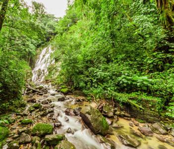 Chorro el Macho a waterfall in El Valle de Anton Panama