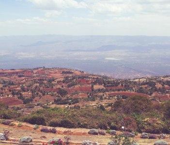 View from Kerio View, Eldoret Kenya