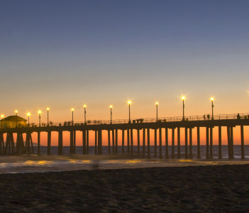 Huntington Beach Jetty Pier