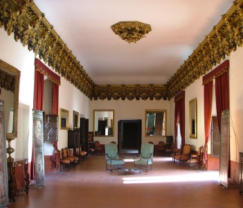 Luxury rooms inside the Ducal Palace