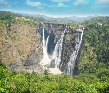 Jog water falls at Shimoga Karnataka India