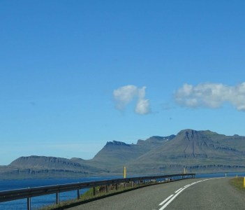 Drive through East Fjords