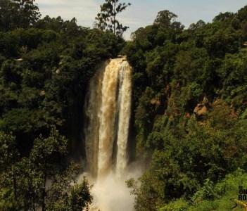 The fantastic landscape around Thomson's Falls, Nyahururu