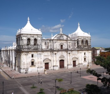Main church in Leon