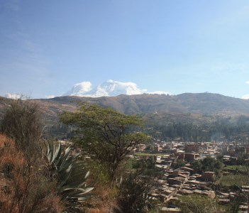 Andean landscape Carhuaz Peru