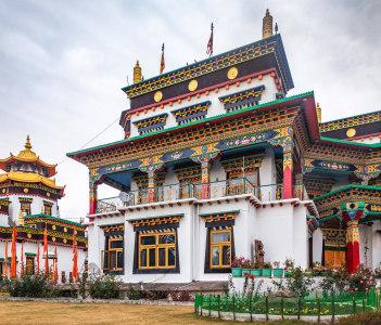 Buddhist monastery Bir Himachal Pradesh