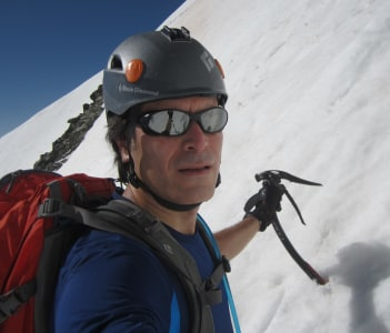 climbing Dead Dog Couloir (Torreys Peak)