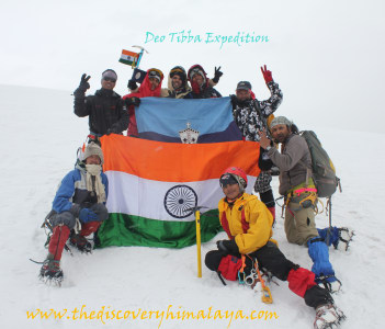 Deo Tibba Expedition 6001mts
