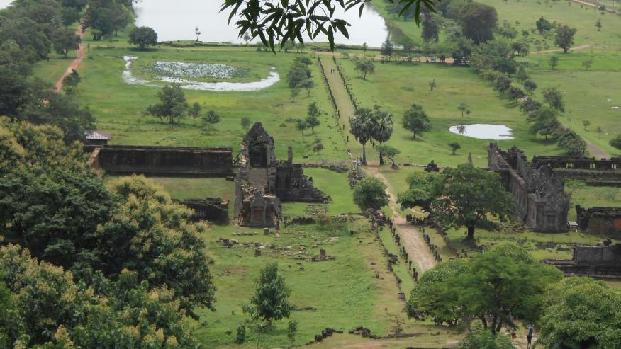 Vat Phou ruin