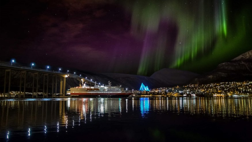 The Northern Lights above Tromso
