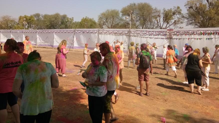 Celebrate Holi in India