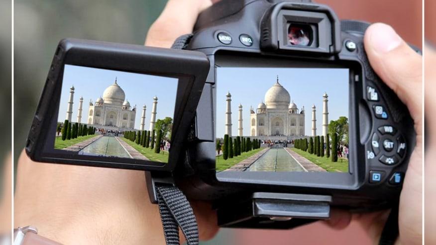 Capture Taj Mahal on film