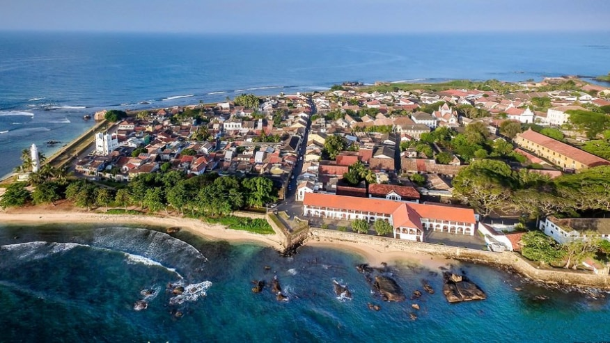 Galle city