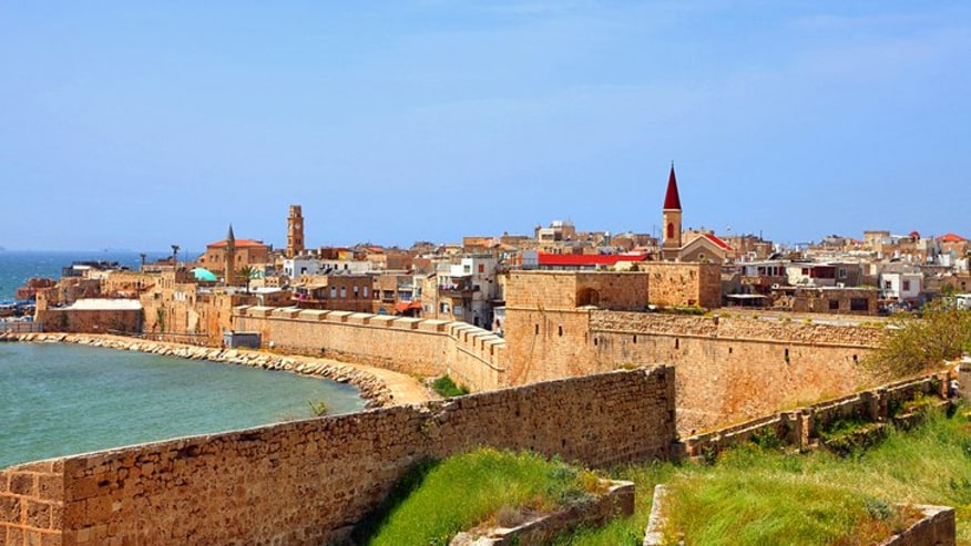 The old city of Akko