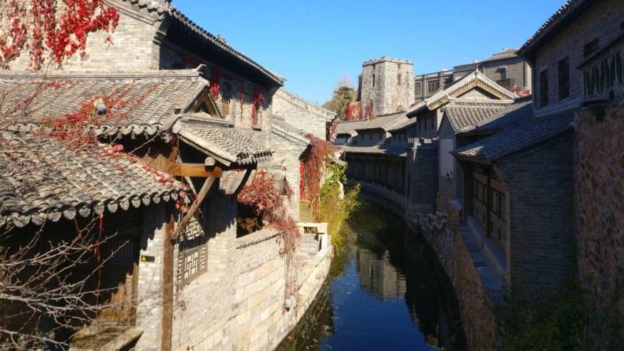 Secret waterways of the town