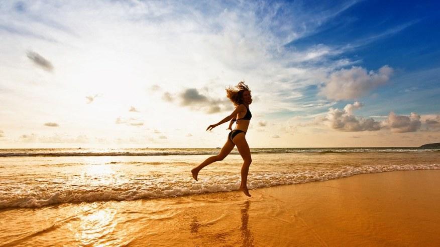 enjoy the sun and sand