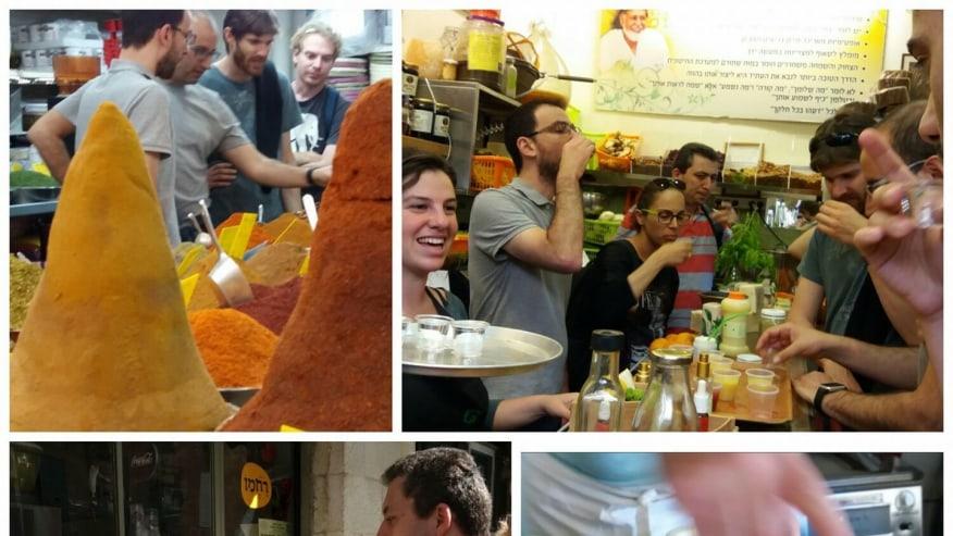 Taste authentic Israeli cuisine on the streets