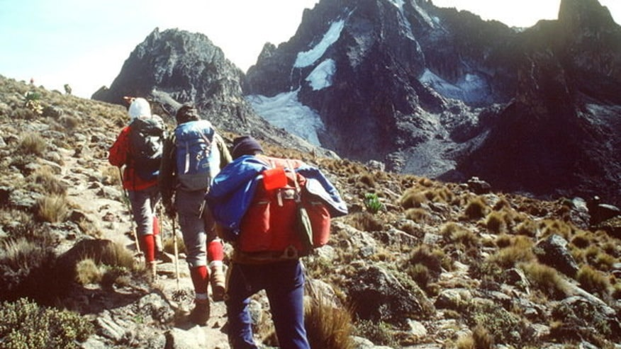 Ascend the highest mountain in Kenya