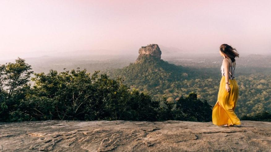 World UNESCO Listed Lion Rock