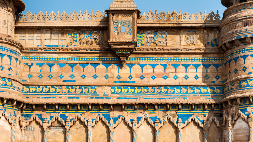 Gwalior Fort Architecture