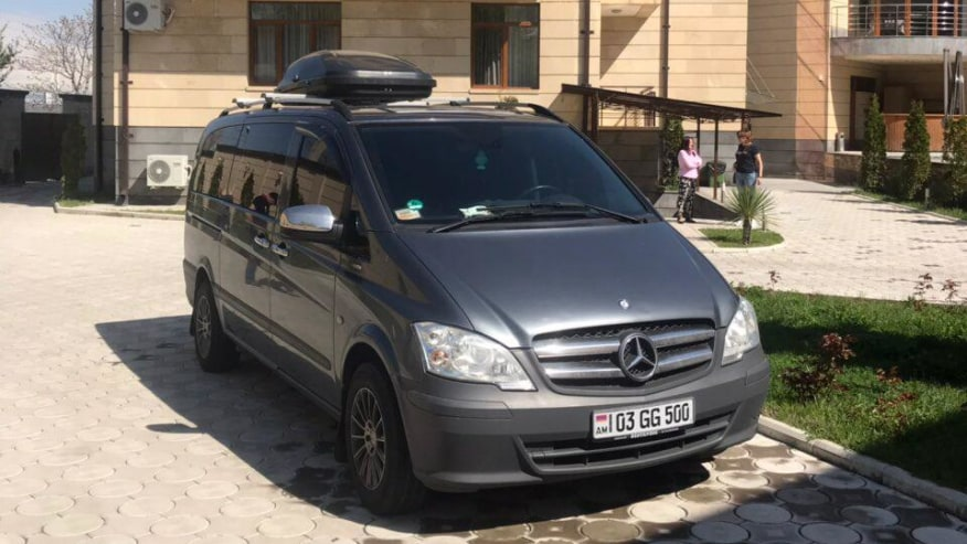 Mercedes vito with 8 seats