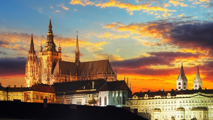 The gorgeous Prague Castle