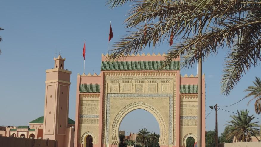 Western city gate of Rissani
