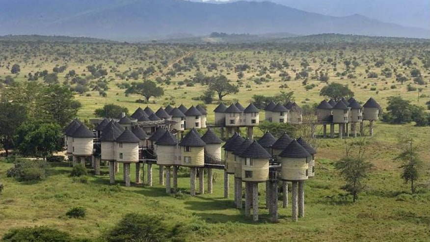 Tsavo East National Park Lodges