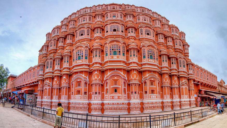 Hawa Mahal front view