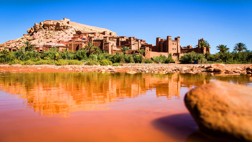 Step inside the walls of this Fortified Moroccan Village