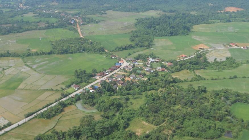 View point of Vangvieng