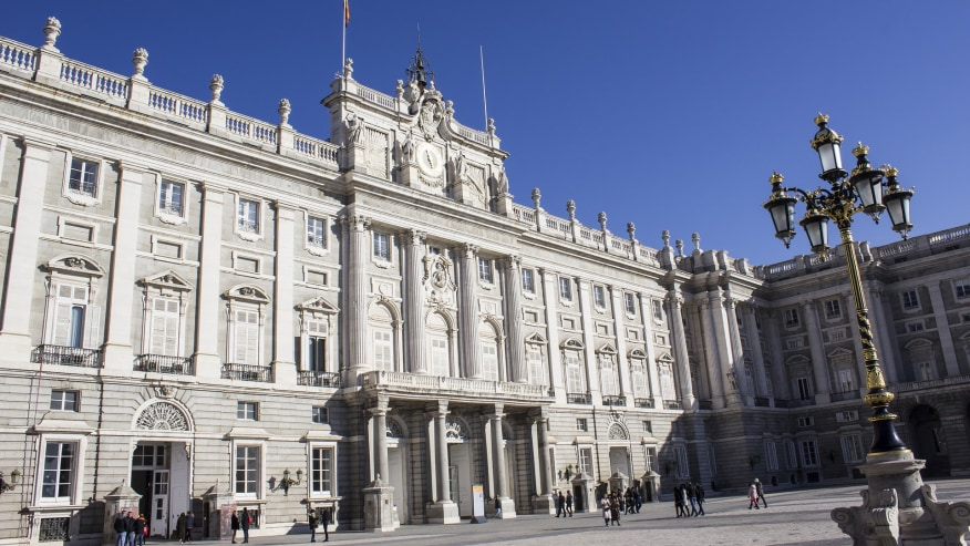 A beautiful architecture of the Royal Palace