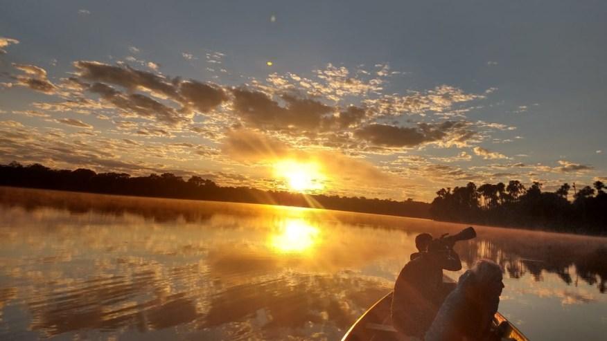 Sunrise on Lake Sandoval