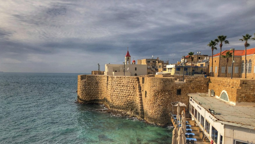 General view of the Walls of Akko / Acre