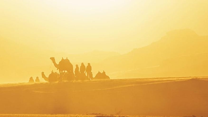 Wadi Rum of Jordon