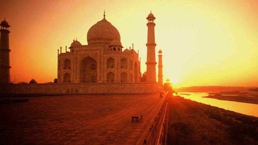 Admire the Golden Taj at Sunrise