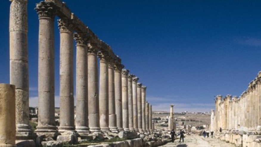 Ancient Ruins of Jerash
