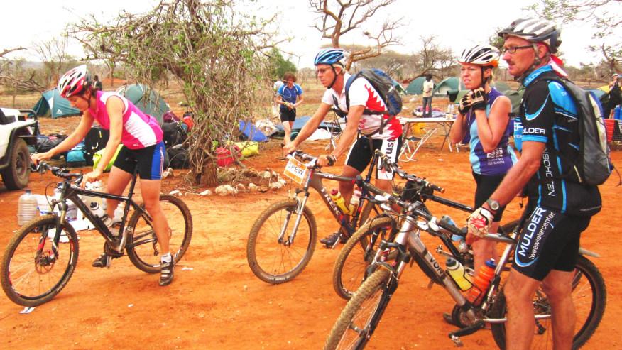 Cycling Through Rural Africa