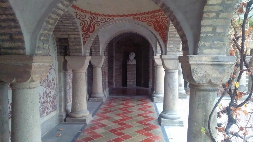 Arcade of Bory Castle