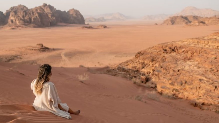 The Deserted Wadi Rum