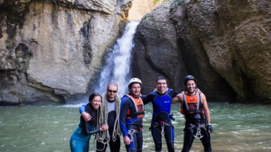 Go Canyoning in the Negovanka River