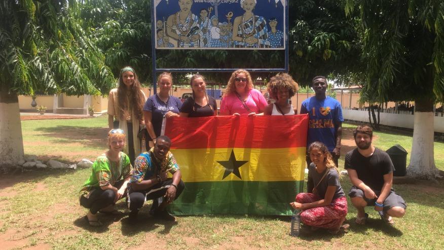 Ghana tour group