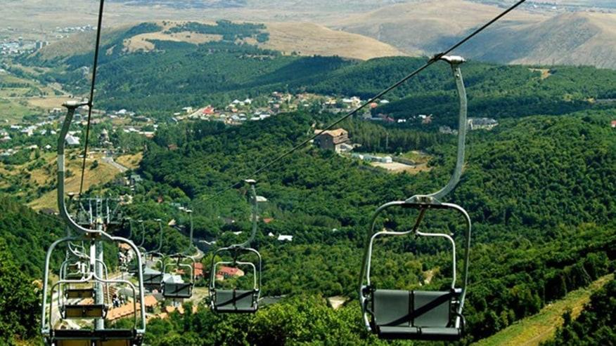 ropeway in Tsakhkadzor resort