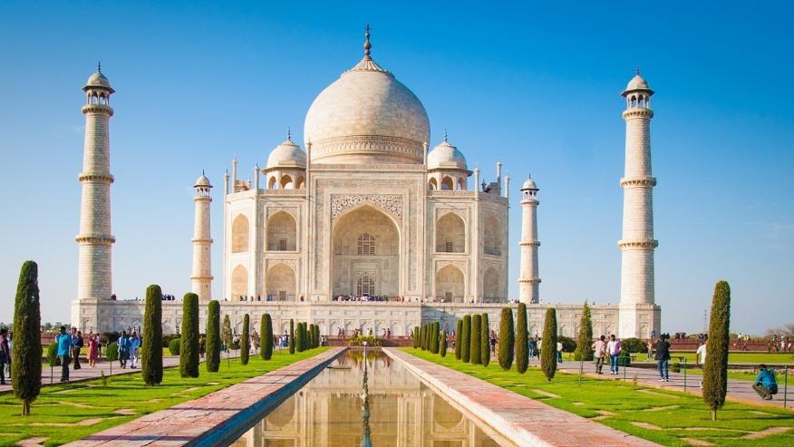 Gaze Upon the Marble Wonder: Taj Mahal