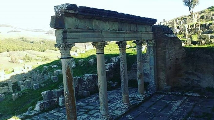 Roman ruins of Djémila