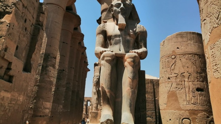 Luxor temple on the east bank