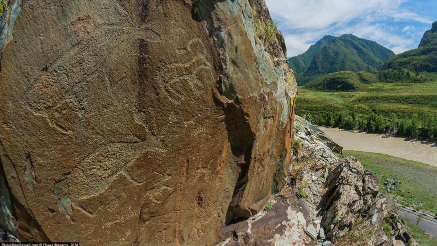 Kalbak-Tash Rock Drawings