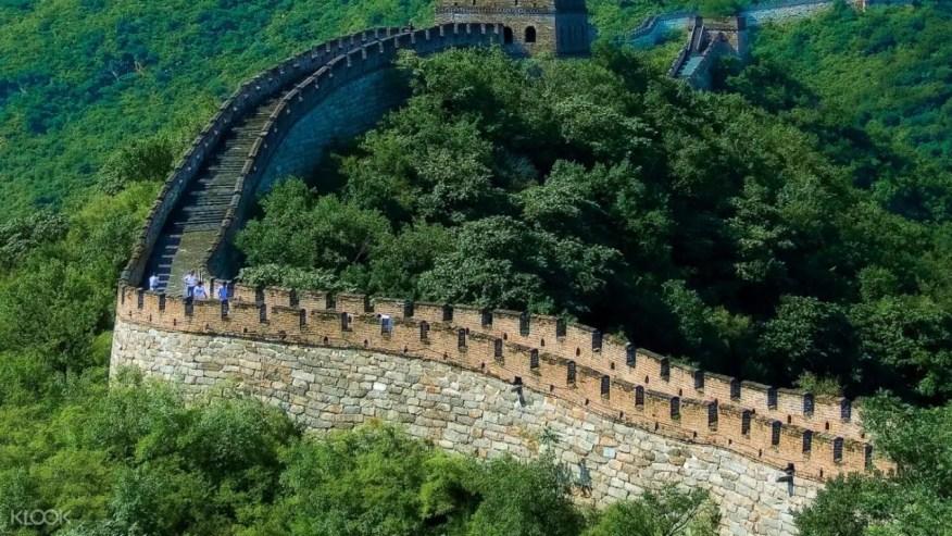 Mutianyu Great Wall In China
