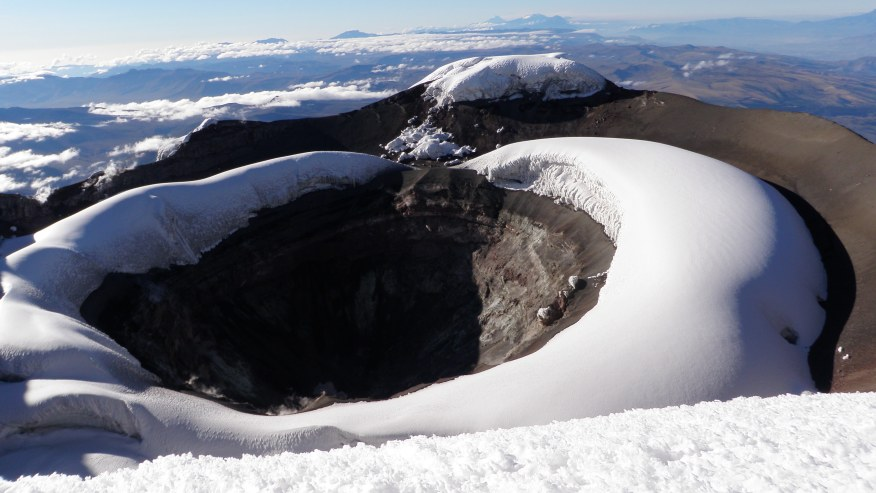 Reach the Summit of this Volcano in the Andes